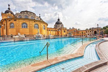 Széchenyi Thermal Bath Budapest, Hungary