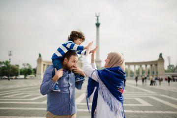 Family holiday, Budapest