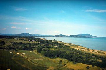 Lake Balaton landscape, Hungary