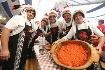 Sausage Festival of Békéscsaba, Hungary; Source: https://www.csabaikolbaszfesztival.hu/galeria